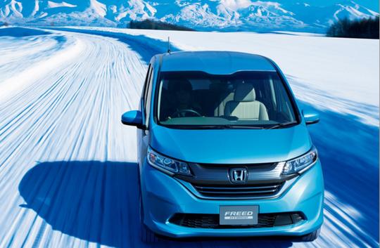 Honda Freed 2017 -MPV mới có giá bán từ 412 triệu đồng