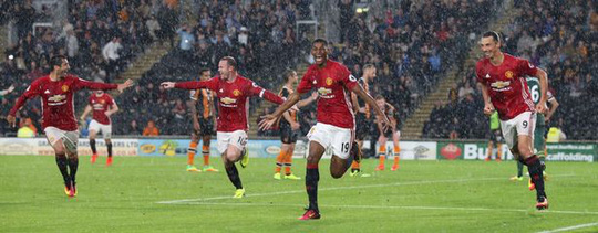 Rashford ghi bàn duy nhất giúp M.U tháng Hull 1-0