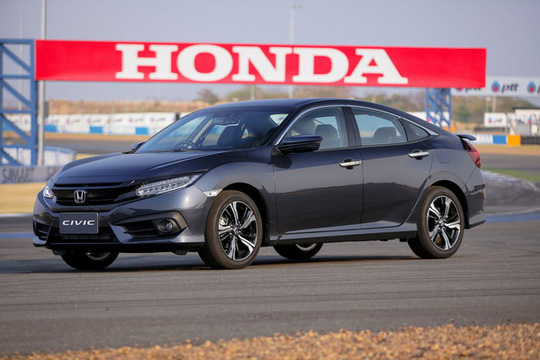 Honda Civic mới sẽ nhập khẩu từ Thái Lan.