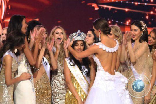 Người đẹp Ấn Độ Srindhi Shetty trong giây phút đăng quang