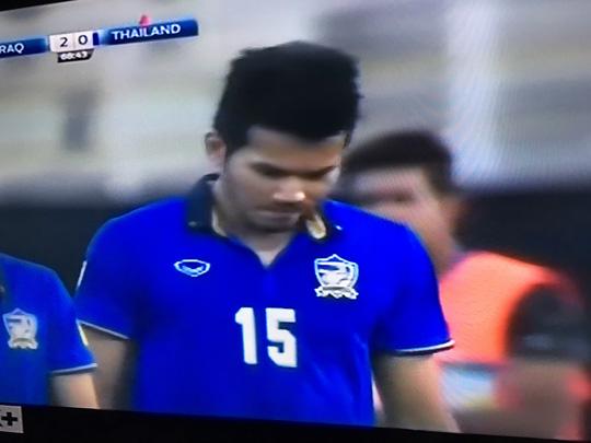 Chỉ sau 4 trận, người Thái dẫn đầu World Cup về số thẻ đỏ khi đã 3 lần bị trọng tài truất quyền thi đấu
