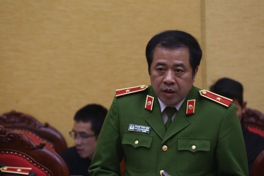 Thiếu tướng Phạm Văn Các khẳng định Trịnh Xuân Thanh không thể trốn thoát được
