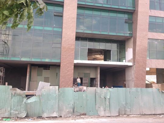 Hiện trường công trình Mường Thanh Khánh Hòa chiều 21-9
