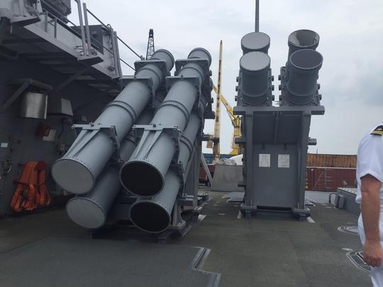 Hệ thống tên lửa hiện đại trên tàu