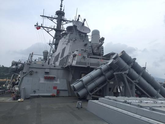 Dàn tên lửa là sức mạnh hỏa lực trên tàu