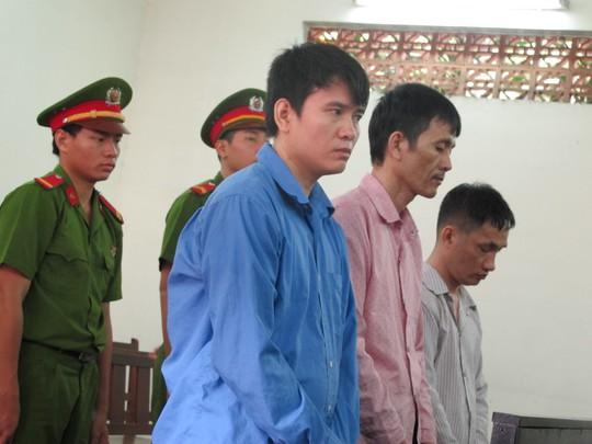 Các bị cáo tại phiên sơ thẩm