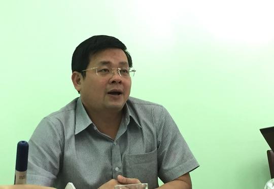 Ông Nguyễn Toàn Thắng - Giám đốc Sở TNMT TP HCM.