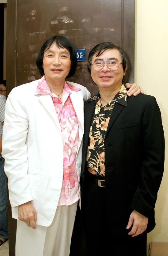 NSND Thanh Tòng và NSƯT Minh Vương