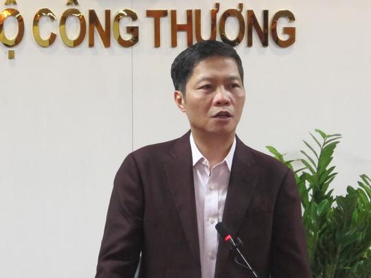 Bộ trưởng Bộ Công Thương Trần Tuấn Anh khẳng định ông không phải người sợ trách nhiệm - Ảnh: Thuỳ Dương