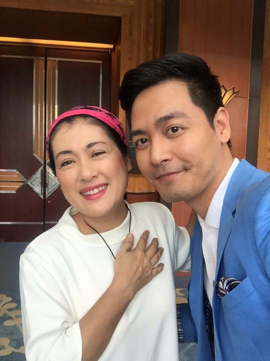NS Thanh Thủy và MC Phan Anh