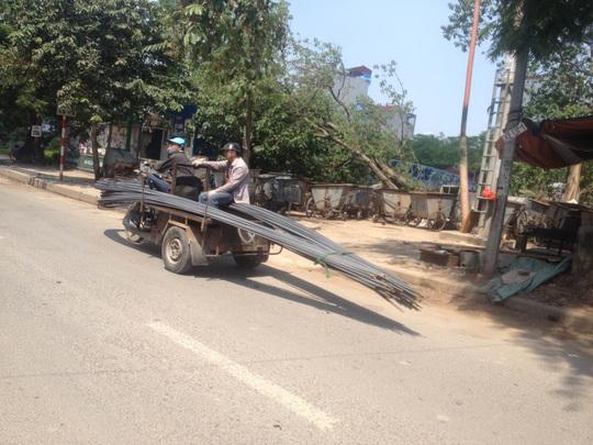 Chủ tịch UBND TP Hà Nội Nguyễn Đức Chung ra yêu cầu xử lý nghiêm việc chở hành cồng kềnh