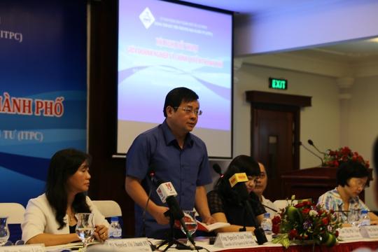 Ông Nguyễn Toàn Thắng – Giám đốc Sở TN-MT TP chủ trì hội nghị.