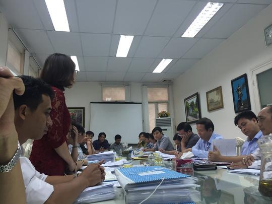 Quang cảnh buổi giải quyết khiếu nại do Sở TN-MT TPHCM chủ trì