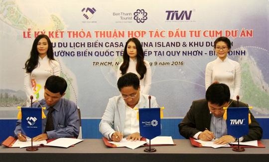 BenThanh Tourist hợp tác đầu tư cụm dự án du lịch nghỉ dưỡng tại Bình Định