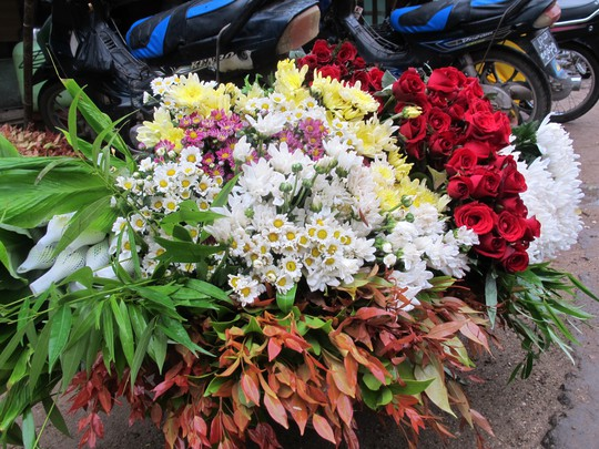 Hoa dùng để dâng Phật
