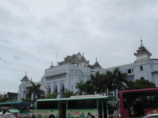 Tòa thị chính ở Trung tâm TP Yangon