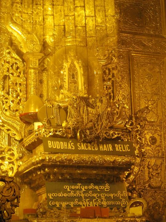 Chùa Botatatung và nơi thờ sợi tóc Đức Phật