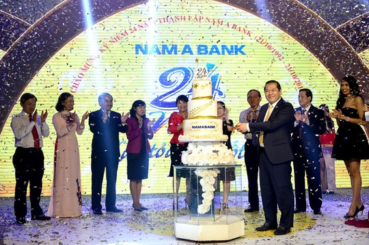 Nam A Bank kỷ niệm 24 năm thành lập