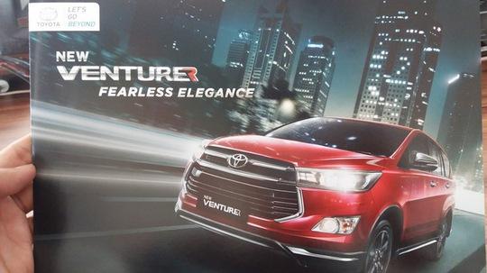 """Toyota Innova phiên bản """"hạng sang"""" sắp ra mắt"""