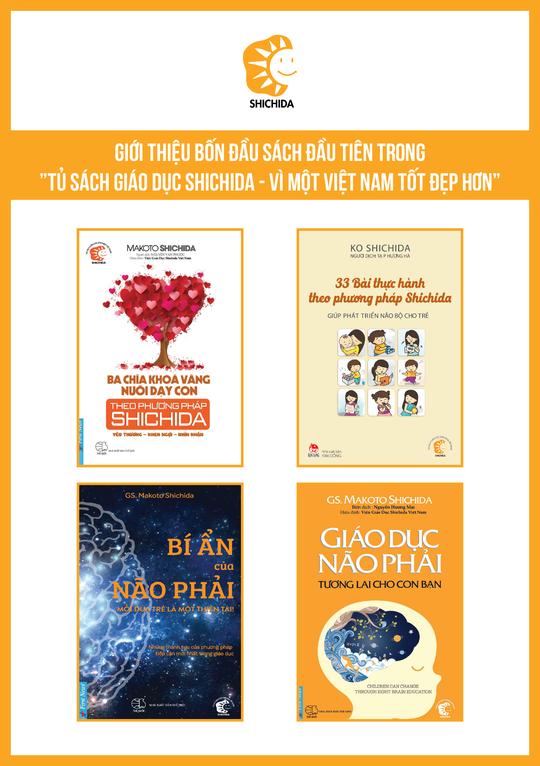 Ra mắt Tủ sách Giáo dục Shichida