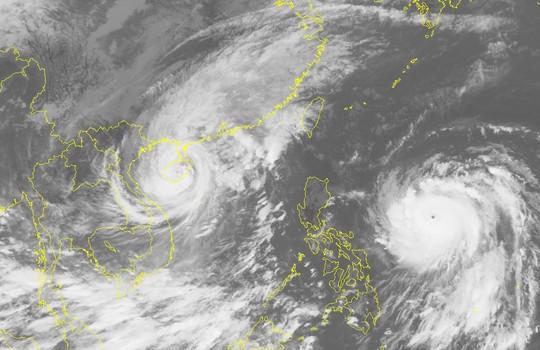 Ảnh mây vệ tinh bão số 7-Nguồn: Trung tâm Dự báo khí tượng thủy văn Trung ương