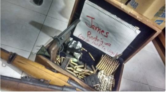 Hình ảnh mà bọn khủng bố gửi đến Rodriguez