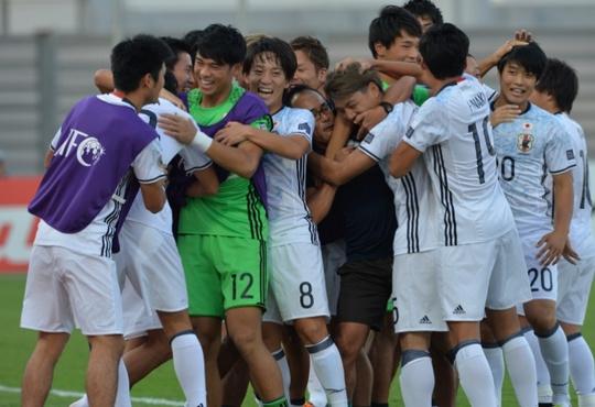 Niềm vui giành vé dự World Cup U20 của Nhật Bản sau chiến thắng 4-0 trước Tajikistan