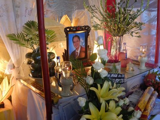 Kể từ lúc anh Hùng qua đời đến nay chưa có lãnh đạo Bệnh viện Đa khoa Hội An đến chia buồn cùng gia quyến