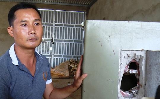 Một trong những nạn nhân bị nạn tại huyện Đức Trọng (Lâm Đồng).