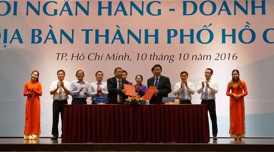 Hội nghị Kết nối ngân hàng - doanh nghiệp trên địa bàn TP HCM