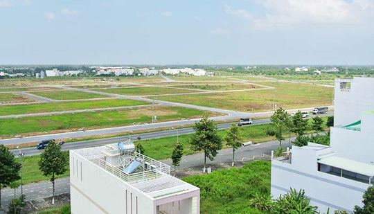 Các dự án đất nền vùng ven tăng liên tục trong thời gian qua.