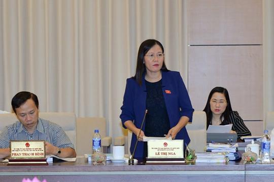 Bà Lê Thị Nga đề nghị xử lý vụ phóng viên Quang Thế sao cho người trong và ngoài cuộc cùng tâm phục khẩu phục