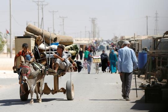 Cuộc khủng hoảng tị nạn hiện là một trong những vấn đề nan giải trên toàn cầu Ảnh: REUTERS
