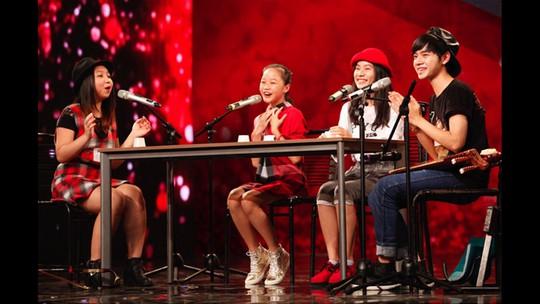Thành viên của ban nhạc 4 chị em từng gây sốt tại cuộc thi Vietnams got talent trước đây