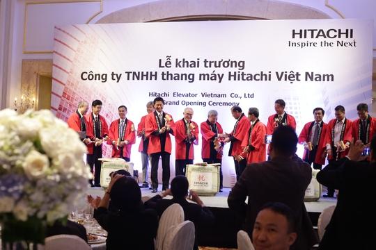 Hitachi khai trương công ty Hitachi Elevator Vietnam