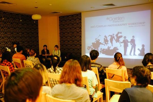 """Có Cosplay workshop """"Japanese Fashion"""" nhằm hướng dẫn về nghệ thuật cosplay"""