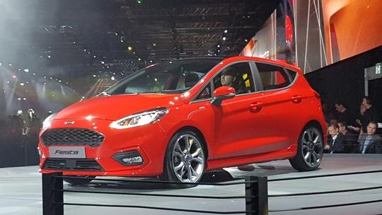 Ford Fiesta thế hệ mới lớn hơn và mạnh hơn