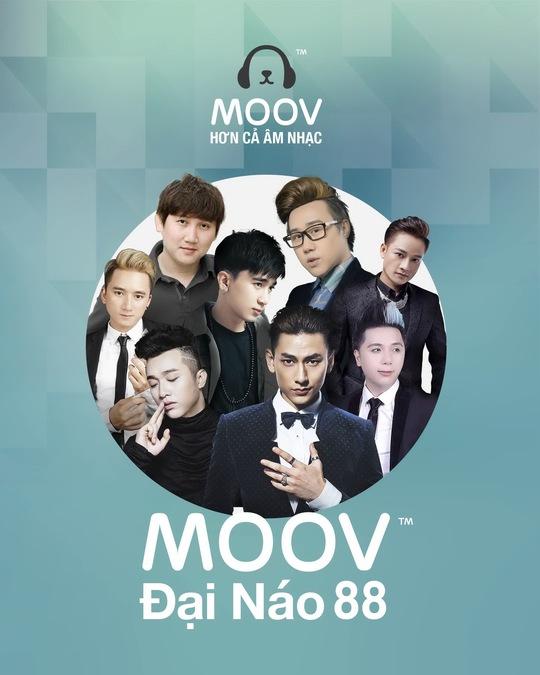 Tải ứng dụng MOOV và trải nghiệm 16 ca khúc V-Pop