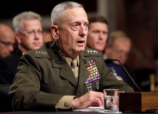 Tướng về hưu James Mattis. Ảnh: REUTERS