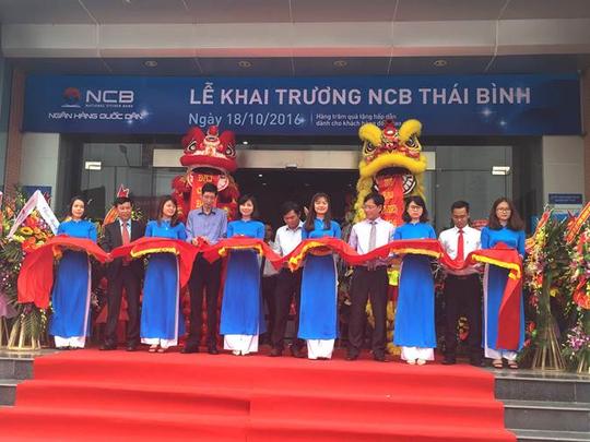 NCB chi nhánh Thái Bình khai trương