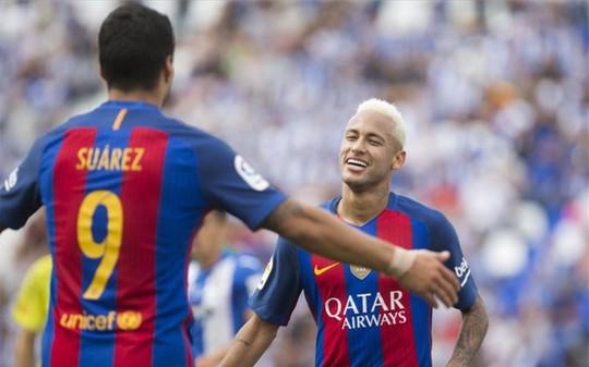 Không Messi, Barcelona vẫn còn đó Suarez và Neymar sẵn sàng ghi bàn