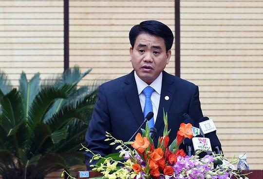 Chủ tịch UBND TP Hà Nội Nguyễn Đức Chung chỉ đạo điều tra, làm rõ vụ hành hung phóng viên - Ảnh Quang Hiếu