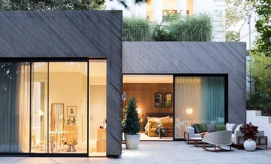 Ngôi nhà mái bằng đẹp như không gian nghỉ dưỡng
