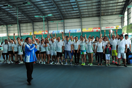 Đây là một sân chơi lành mạnh, giúp kiều bào yêu thích bộ môn tennis được thể hiện niềm đam mê của mình