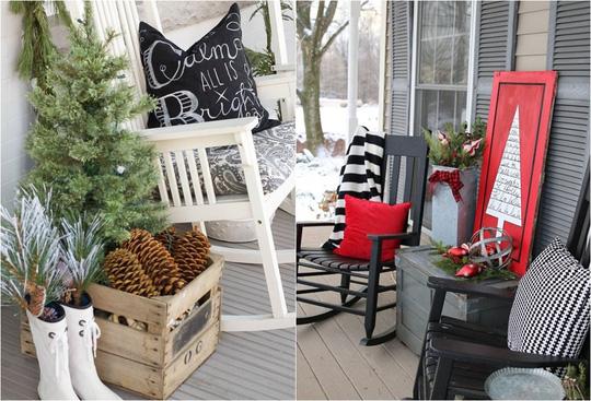 Những tấm chăn mỏng cũng có thể sưởi ấm cho mọi người khi ngồi ngắm cảnh bên hiên nhà vào mỗi buổi tối.