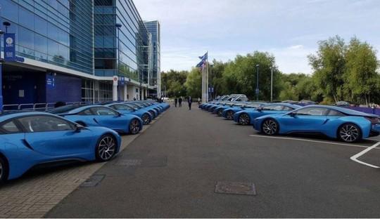 Đội siêu xe của các cầu thủ Leicester