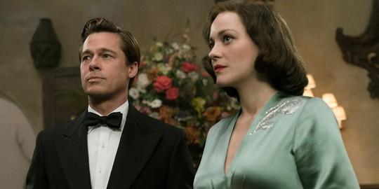 Brad Pitt và Marion trong phim mới