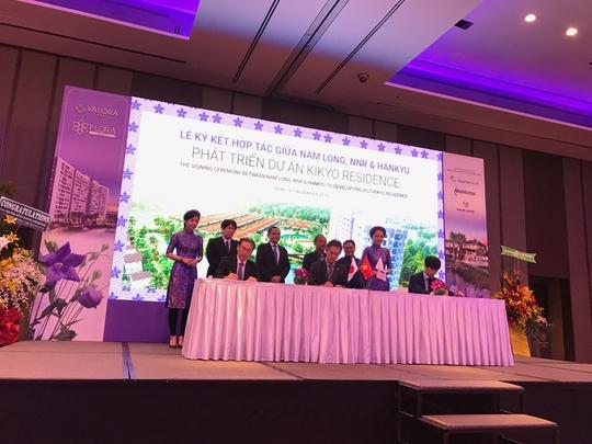 Nam Long ký hợp tác với nhà đầu tư Nhật cùng phát triển dự án Kikyo Residence.
