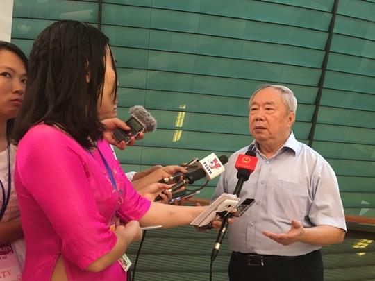 Nguyên Chủ nhiệm Văn phòng Quốc hội Vũ Mão nói về những sai phạm ở Bộ Công Thương và cá nhân cựu Bộ trưởng Công Thương Vũ Huy Hoàng-Ảnh: Văn Duẩn