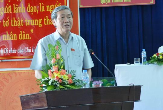 Ông Đinh Thế Huynh thông tin Trịnh Xuân Thanh đã bỏ trốn sang châu Âu